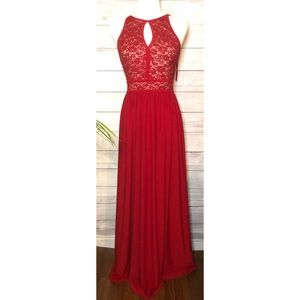 Night Way Collections Dresses - Night Way Red Gown